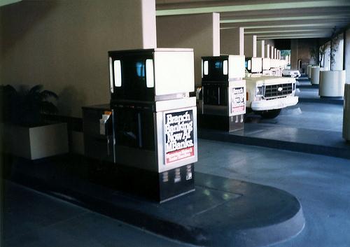 Drive-Thru ATM @ El Paso in 1988