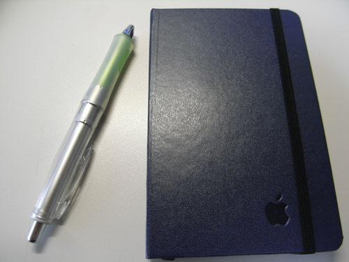 林檎手帳、と愛用のDr.Grip
