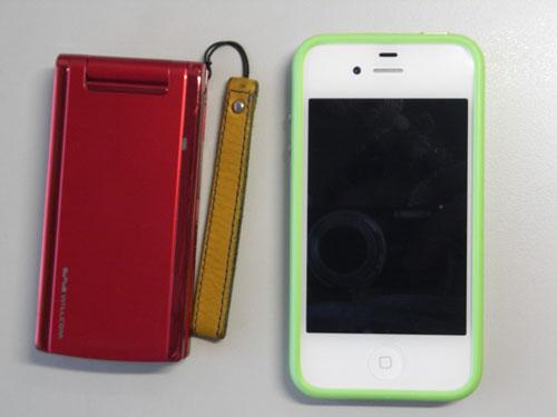 iPhone4Sとピッチ