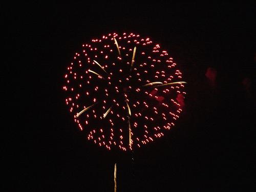 5年前の江の島花火大会は8月開催でした
